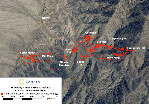 Fondaway Canyon District Structural Model